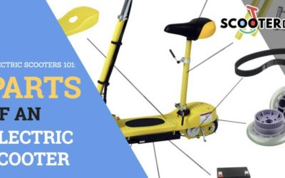 Parts of an Electric Scooter : Electric Scooters 101